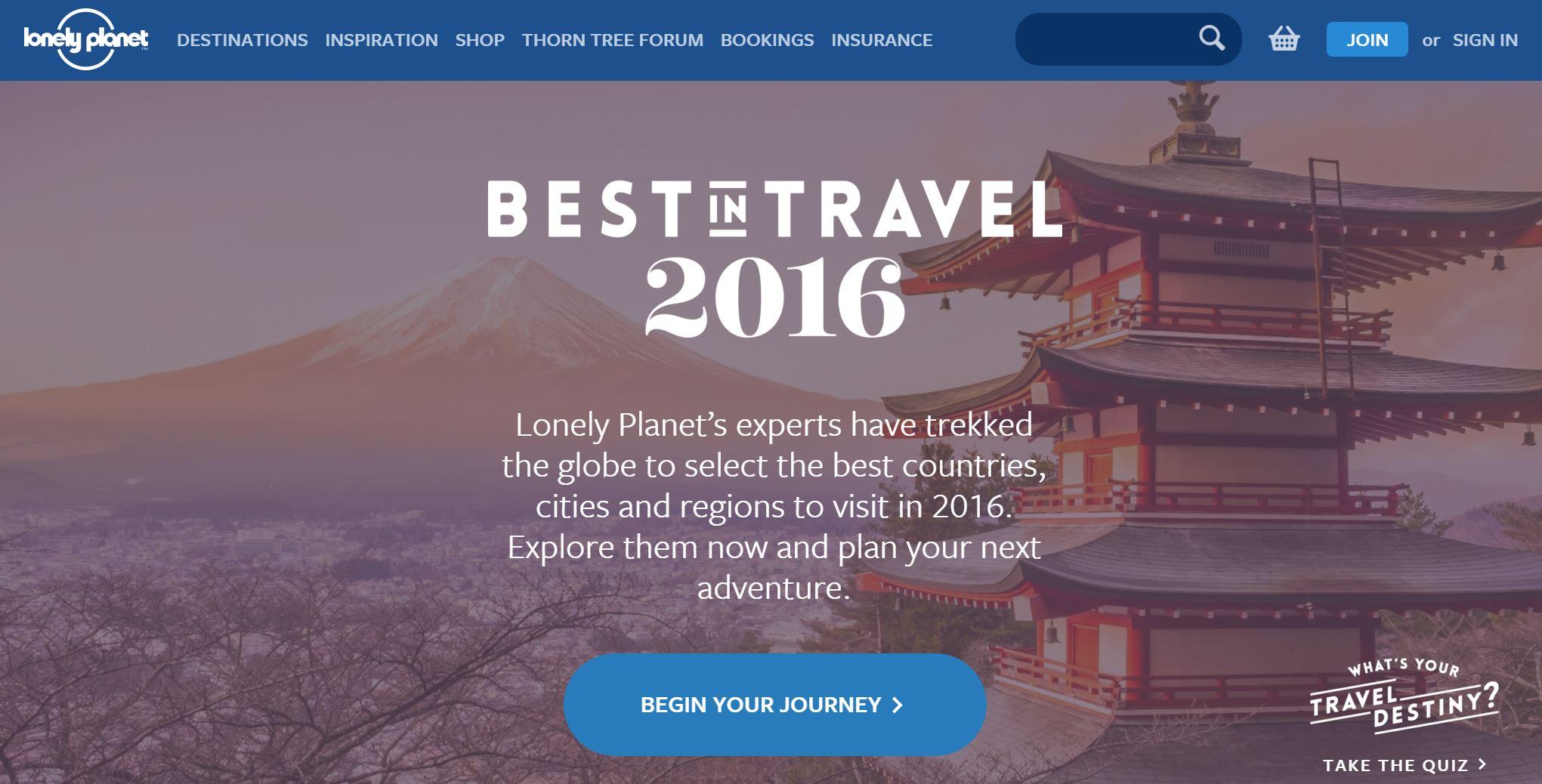 世界的旅行ガイドブックが選ぶ旅行先ランキング、日本が訪れるべき国で2位に ーロンリープラネット
