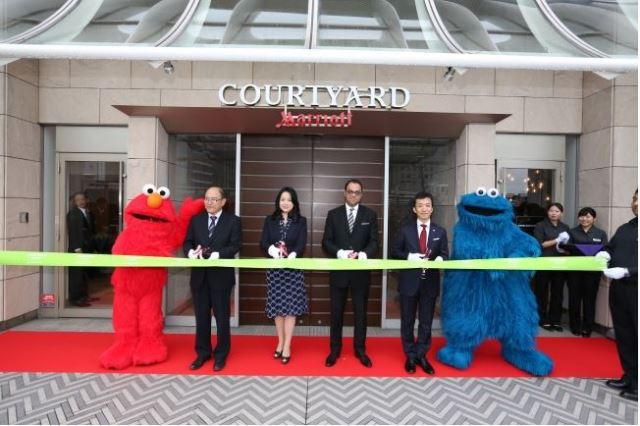 新大阪駅に徒歩1分の新ホテル、マリオット系がモバイルチェックイン導入でオープン