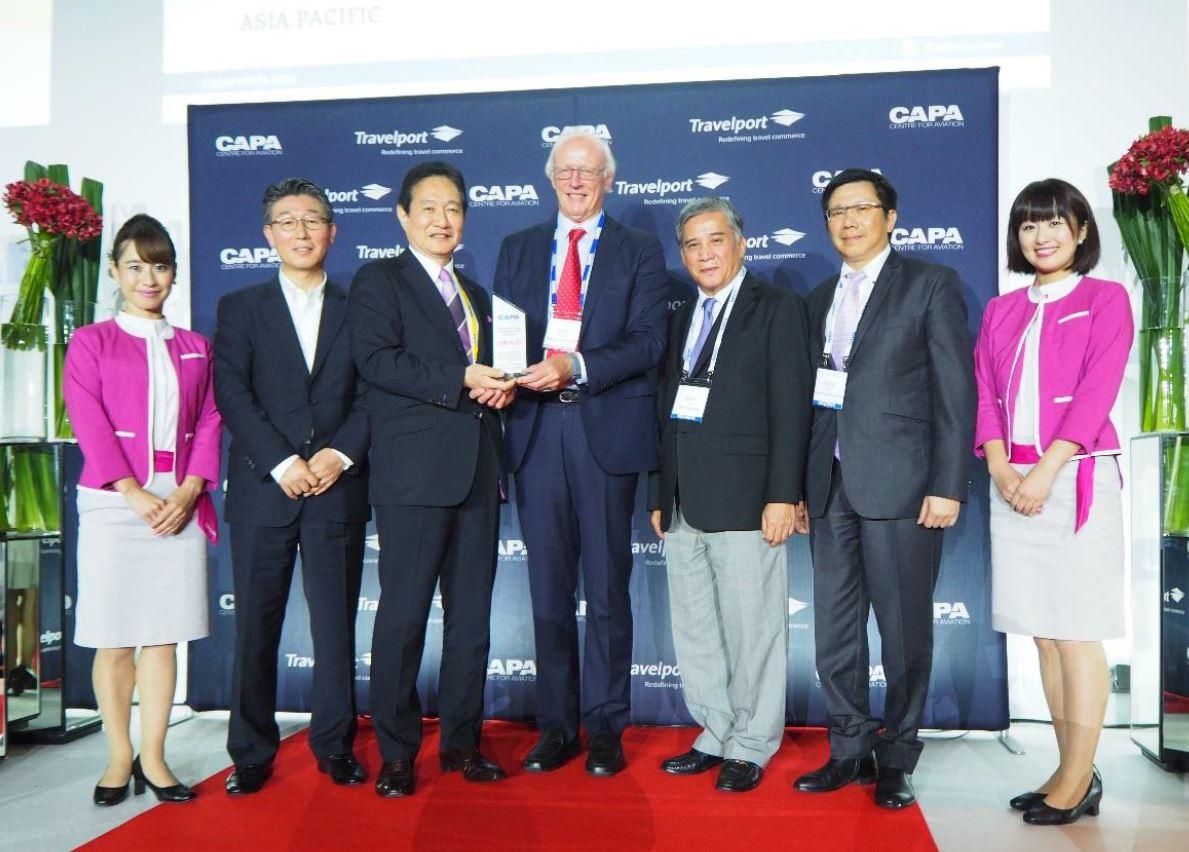 LCCピーチ、CAPA「LCCオブ・ザ・イヤー2015」受賞、北東アジアのLCCとして初めて