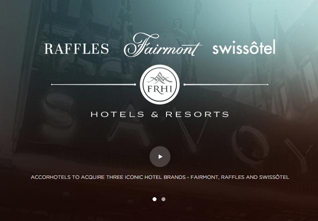 仏アコーホテルズ、ラッフルズ運営会社を買収、統合後の売上規模は世界トップ3圏内に
