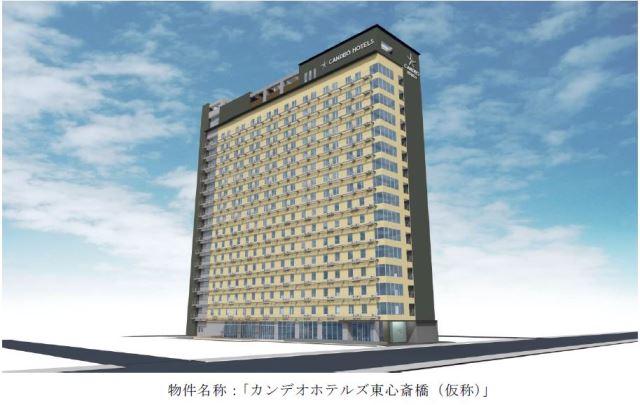 大阪ミナミの中心地に496室の新ホテル、展望露天風呂やこだわりベットで -サンケイビルなど