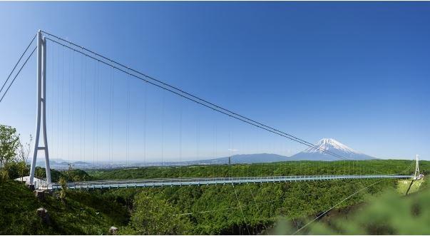 日本最長のつり橋が誕生、富士山や伊豆の絶景を眺む観光の新スポットに -静岡県・三島に