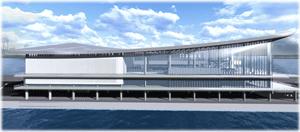 東京港に世界最大級のクルーズ客船にも対応するターミナルビル、2020年までに整備完了 ―東京都港湾局