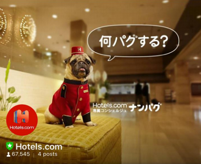 ホテルズドットコムがLINEアカウント開設、1000円割引クーポンなどお年玉企画も