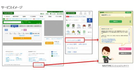 乗換えアプリで対話できる新サービス、利用者の曖昧な質問に回答 - ナビタイム