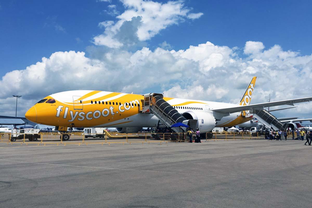 """シンガポールで航空ショー開幕、 LCCスクートが""""ドリームライナー""""787にこだわる理由を聞いてきた"""