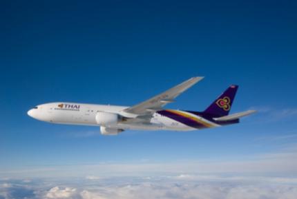 タイ航空、バンコク/小松で国際チャーター、双方向の需要取り込みで