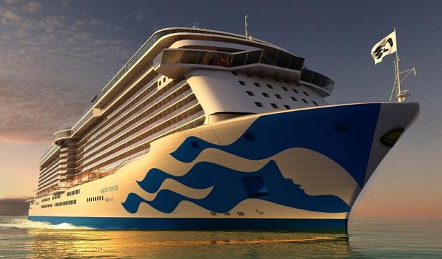 プリンセス・クルーズ、中国向け客船のデザイン発表、2017年夏から運航へ