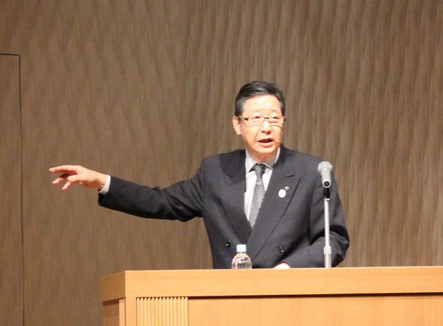 愛知県観光振興部観光局長に就任して早や3年の加納國雄氏。「やりがいがある」と語る
