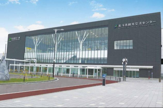 北海道・新函館北斗駅に新たに観光案内所、特産物販売やイベントスペースも