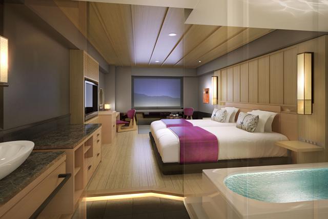 京都センチュリーホテルが全面改装完了、環境配慮で全室禁煙に