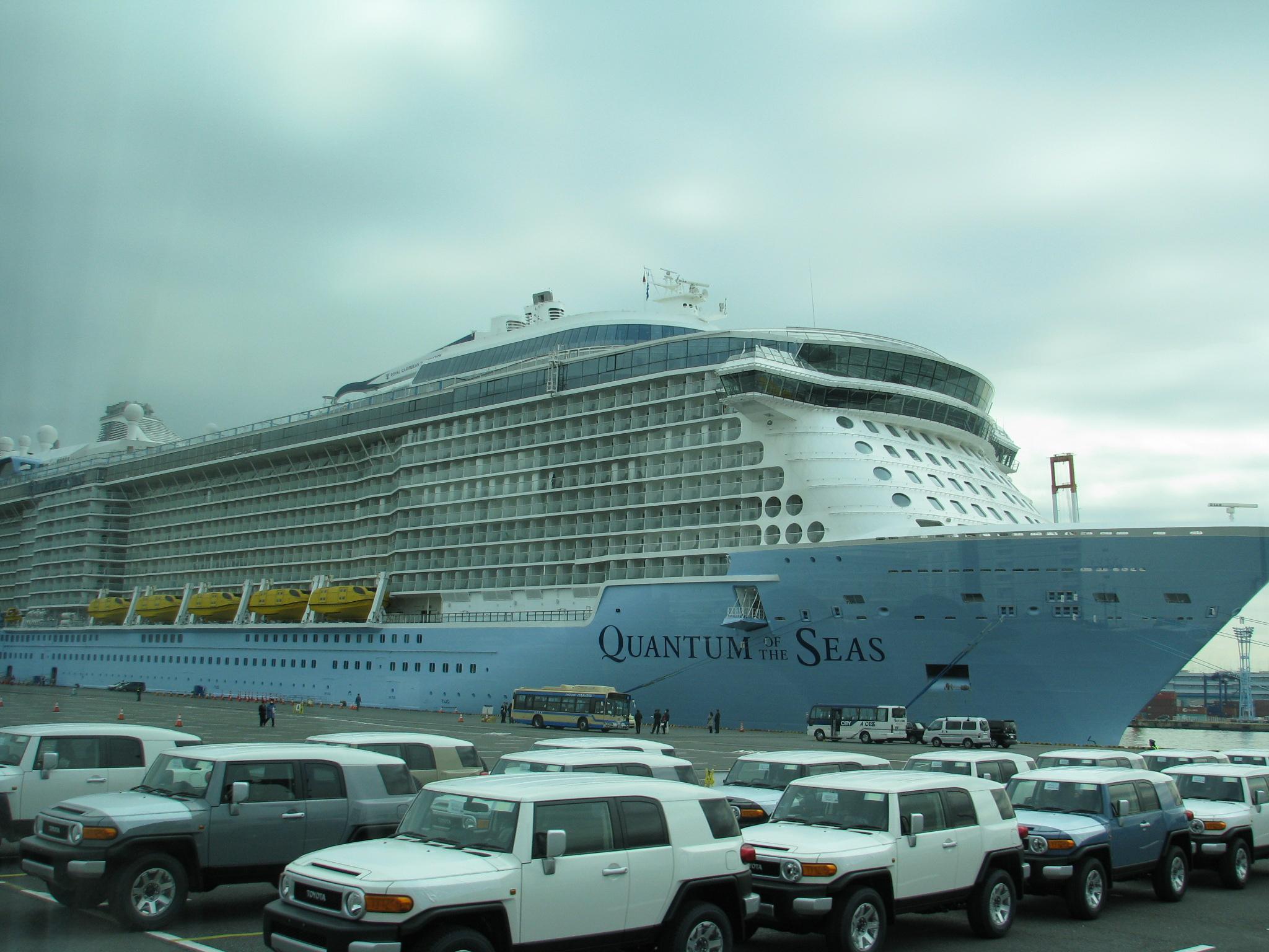 熊本地震で中止されていた訪日クルーズ船の寄港が再開、上海から4000名が熊本八代港に -ロイヤル・カリビアン