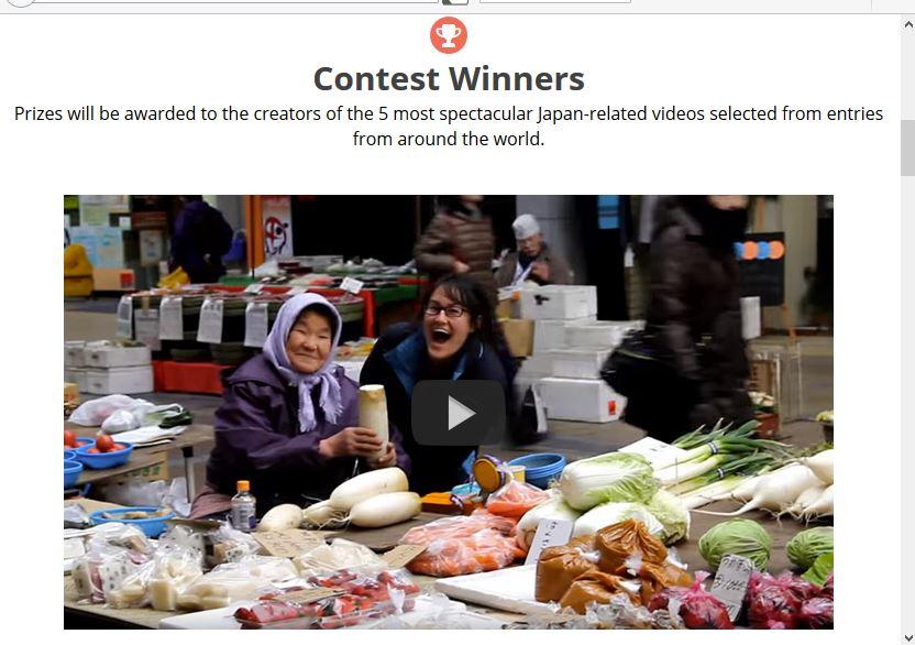 日本政府観光局、外国人対象の日本の動画コンテスト実施、1位は定番観光地と人々との交流 【動画】