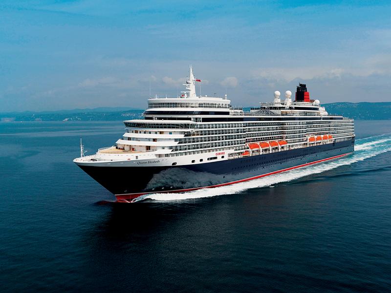 世界で最も有名な豪華客船「クイーン・エリザベス」