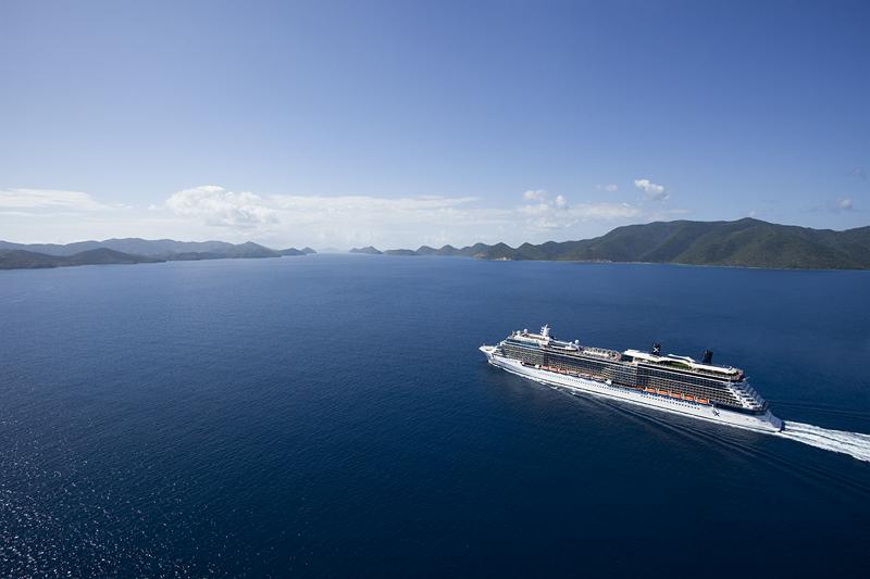 格調高くく気品ある豪華客船「セレブリティ・シルエット」