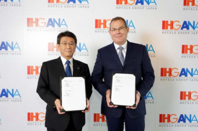 ANAとIHGがホテル運営事業で提携強化、戦略的パートナーシップを2036年まで延長へ