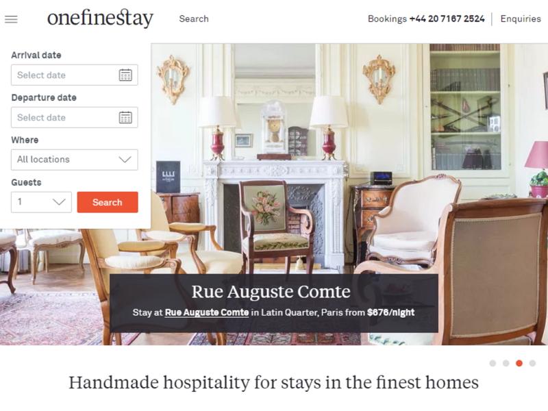 仏アコーホテルズが「民泊」事業に参入、高級住宅レンタルの英ワンファインステイ社を買収