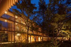 界 鬼怒川の中庭:星野リゾート提供