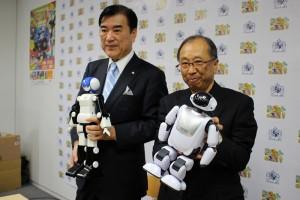 左から)代表取締役社長・澤田秀雄氏、経営顧問&CTOの富田直美氏