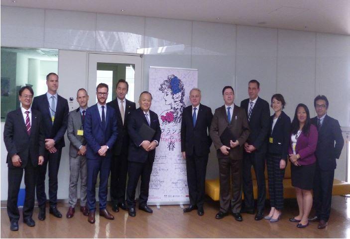 日本旅行業協会とフランスが協力、日本人の旅行者送客で、仏エロー外務大臣も臨席