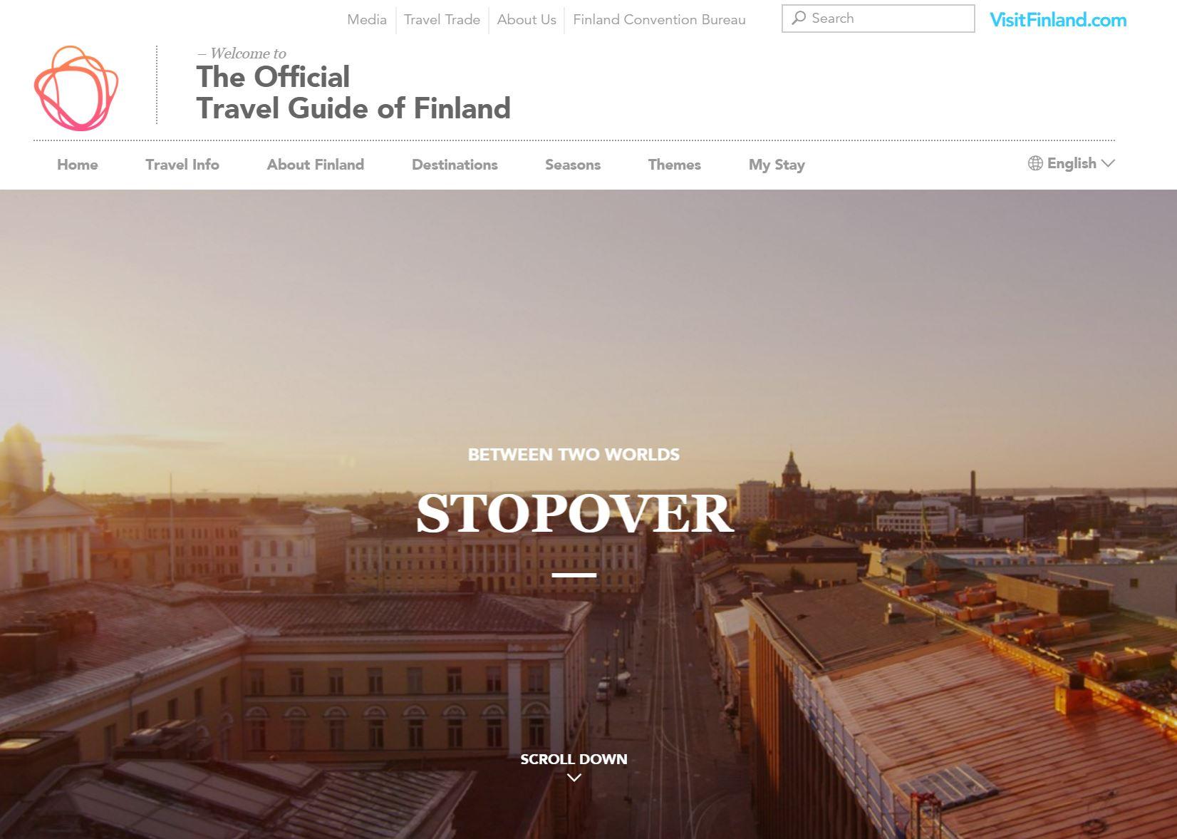 フィンランド航空、乗継ぎ客専門の旅行予約サイトを開設、フィンランド経由の欧州旅行者に最大5日間ツアーなど