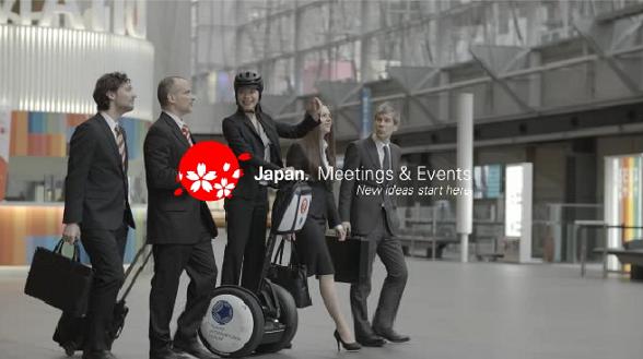 日本政府観光局、MICE誘致用の映像素材を公開、インセンティブ旅行やイベントシーンの事例を多言語で
