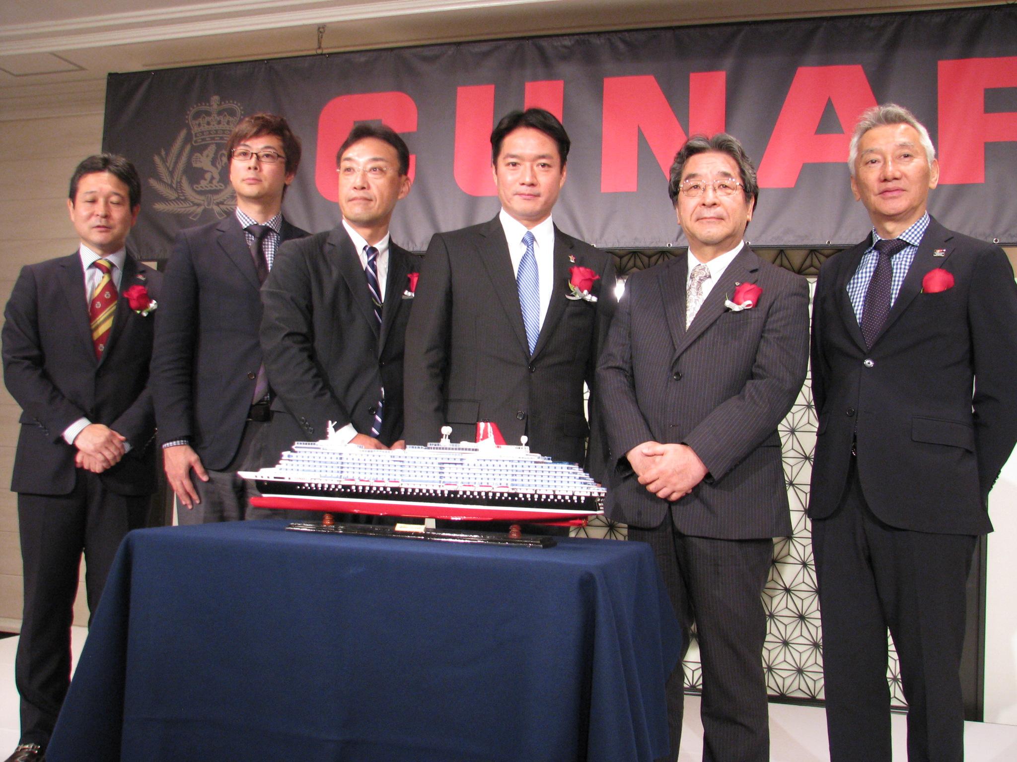 豪華客船クイーン・エリザベス、2018年は大阪発着7泊8日の区間クルーズ提供、高知に初寄港