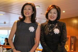 左)保木久美子氏、右)湯川智子氏