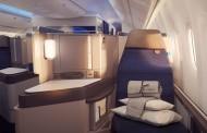 ユナイテッド航空が国際線ビジネスクラスを刷新、「快適な睡眠」コンセプトに寝具開発も