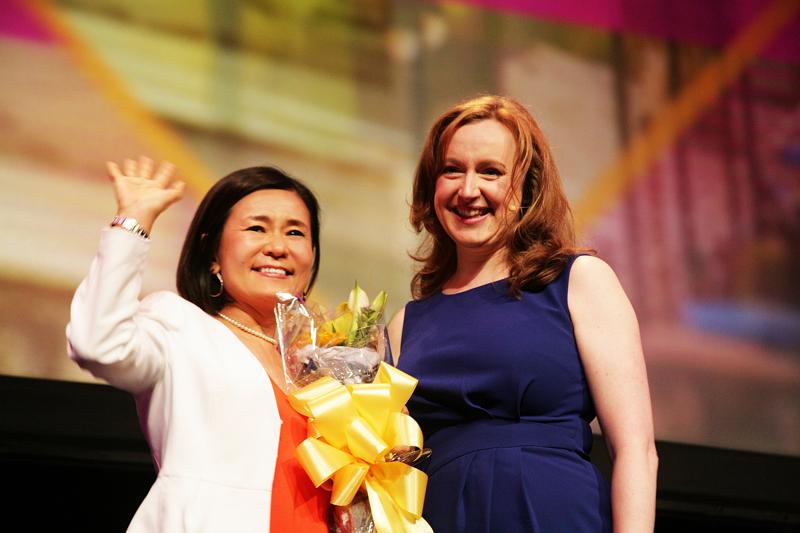 MICEの世界イベント「WEC」開催、MPI日本支部・山本牧子会長が「Char's Award」を受賞