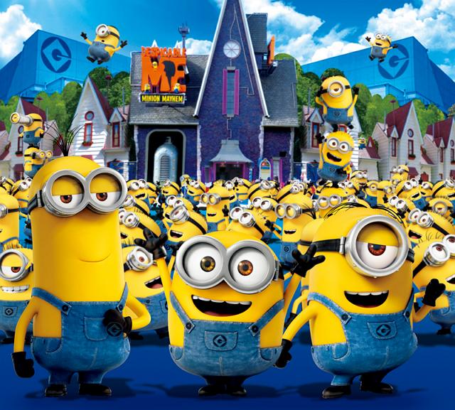 ユニバーサル・スタジオ(USJ)に新エリア、2017年に人気キャラクター「ミニオン」で世界最大規模