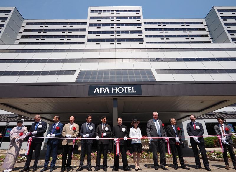 アパホテル、海外ホテル第1弾「アパホテル・ウッドブリッジ」を開業、北米全域への拡大目指す