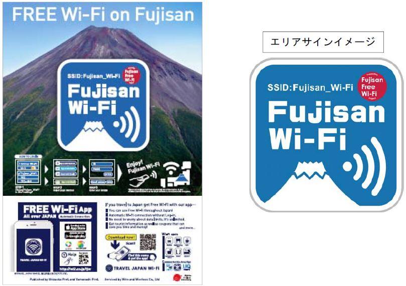 富士山の山小屋すべてで利用できる無料Wi-Fiがスタート、登山口では多言語観光案内 -静岡県・山梨県