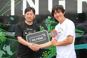 左から)ウィラー村瀬氏、ナイアンティック川島氏