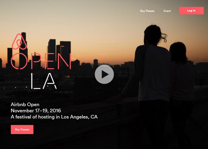Airbnb恒例のコミュニティイベント「Airbnb Open」、今年は11月にロサンゼルスで開催へ