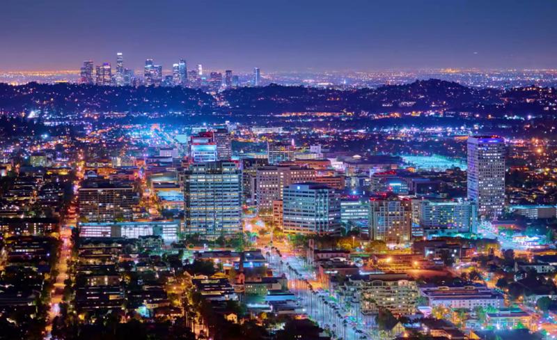 【旅に出たくなる動画シリーズ】 米ロサンゼルスが空想都市に? 街全体をアートにする映像表現を堪能