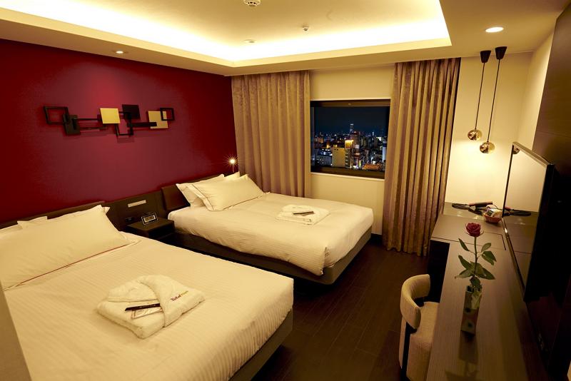米ホテルチェーン「レッドルーフ」が日本進出、大阪ミナミに第1号店オープン