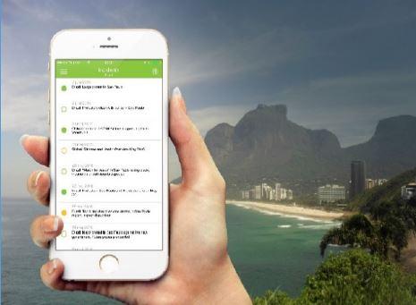 危機管理アプリでリオ五輪のセキュリティ情報を配信、登録ユーザー同士が退避ルートを共有する機能も