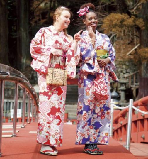 日光・鬼怒川エリアで「着物レンタル」サービス、外国人観光客向けに英語対応も ―東武鉄道グループ
