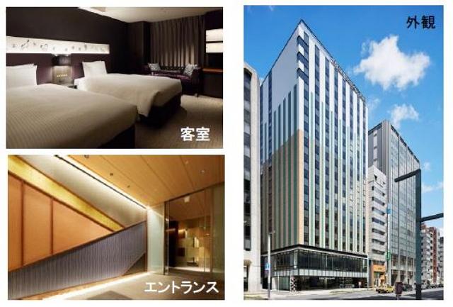 東京駅近くに「三井ガーデンホテル京橋」開業、全室2名以上対応の客室で