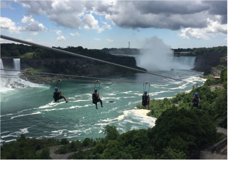 カナダ・ナイアガラの滝に3つの新アトラクション、7歳から参加可能な空中散歩など
