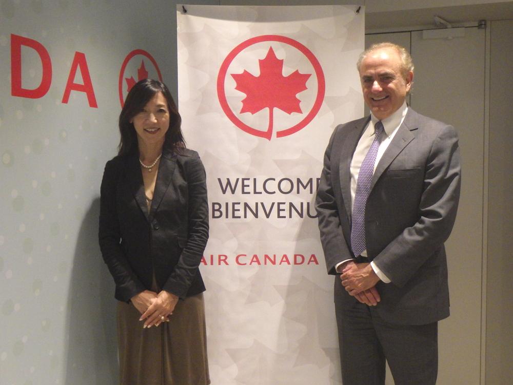 エア・カナダ、11年ぶりに名古屋就航、北米ハブとして地方レジャー市場の取り込みを