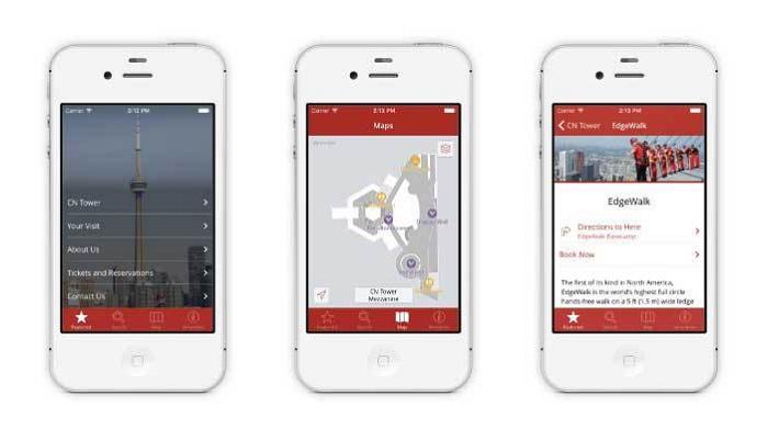 カナダの観光スポット「CNタワー」が専用アプリ発表、施設内のイベント活用から周辺のレストラン予約まで可能に