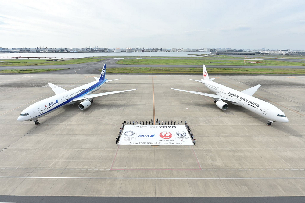 JALとANAが共通の特別塗装機、「東京2020大会」エンブレムで国内線対象に運航開始へ【画像】