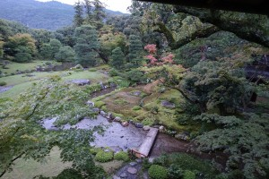 山県有朋の別荘で名勝として知られる無鄰菴