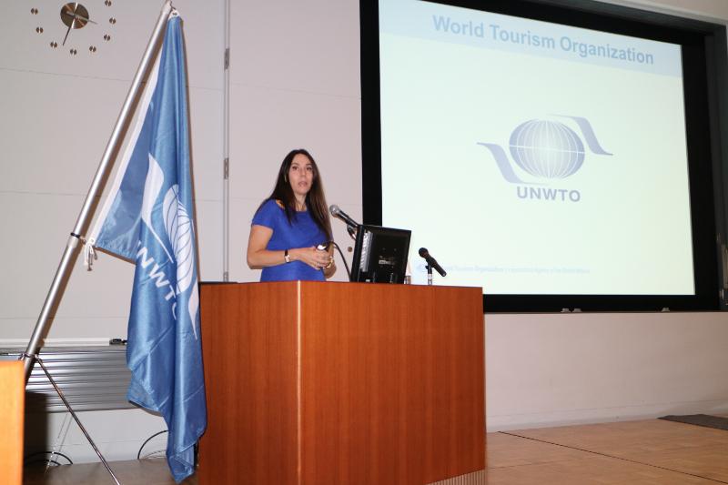 国連世界観光機関(UNWTO)のヨランダ・ペルドモ氏