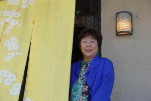 地元の観光促進にも積極的に取り組む「とト屋」女将の池田香代子さん