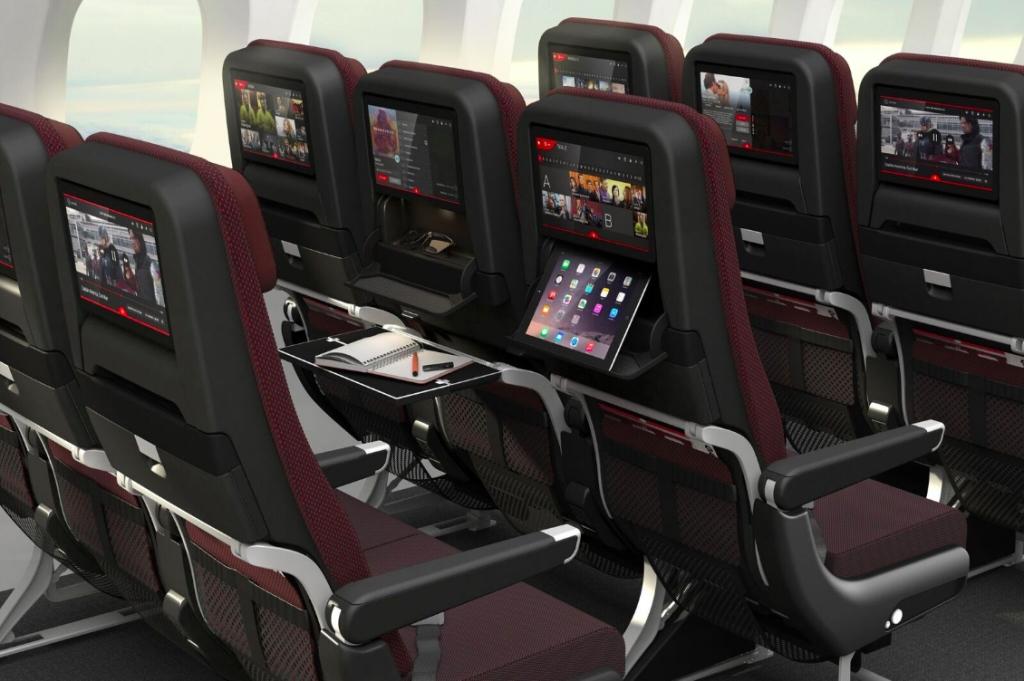カンタス航空、ボーイング787-9ドリームライナーの新客室デザイン発表、3クラスで1年後のフラッグシップに