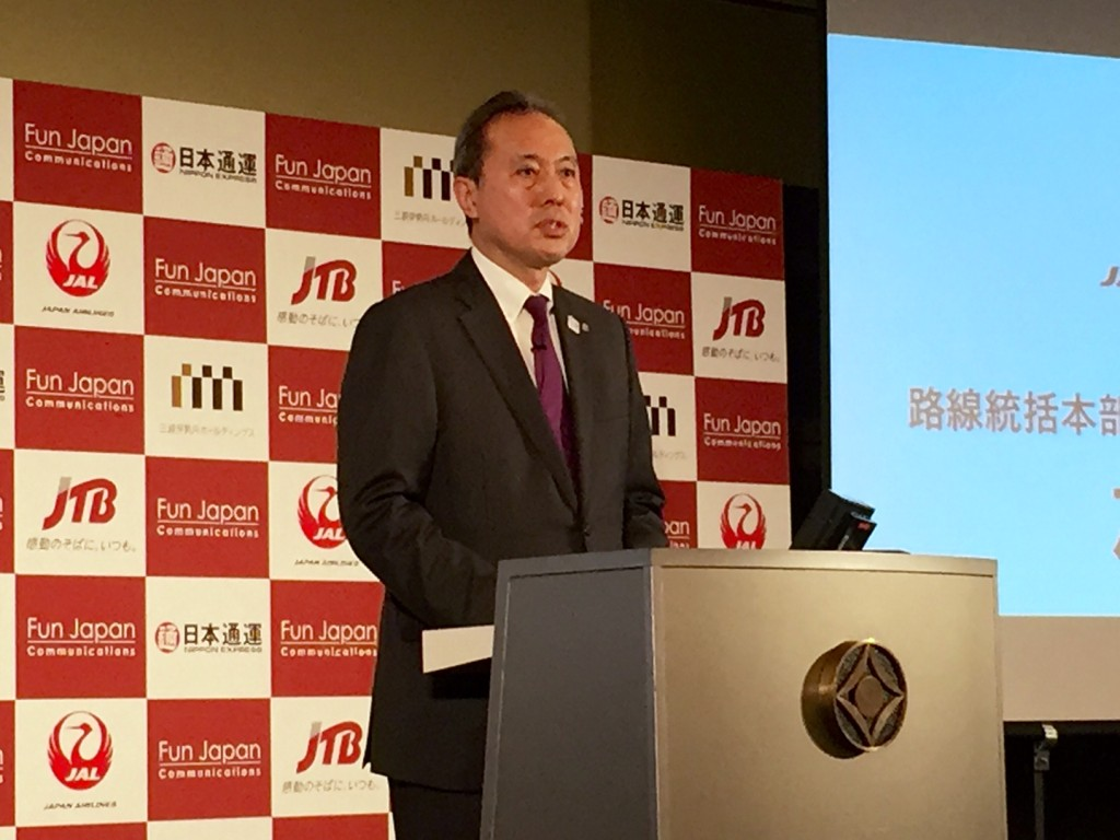 JAL 執行役員 路線統括本部商品・サービス企画本部長 加藤淳氏