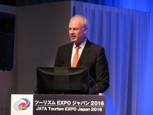 世界ツーリズム協議会(WTTC) ディビッド・スコースィル氏